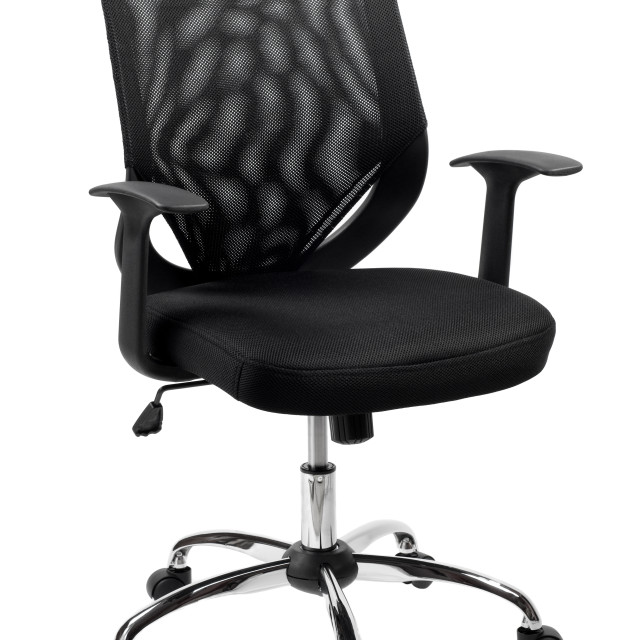 """""""black office chair"""" stock image"""