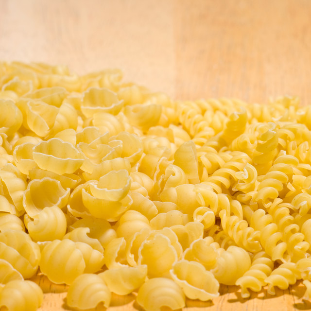 """pasta spilled"" stock image"