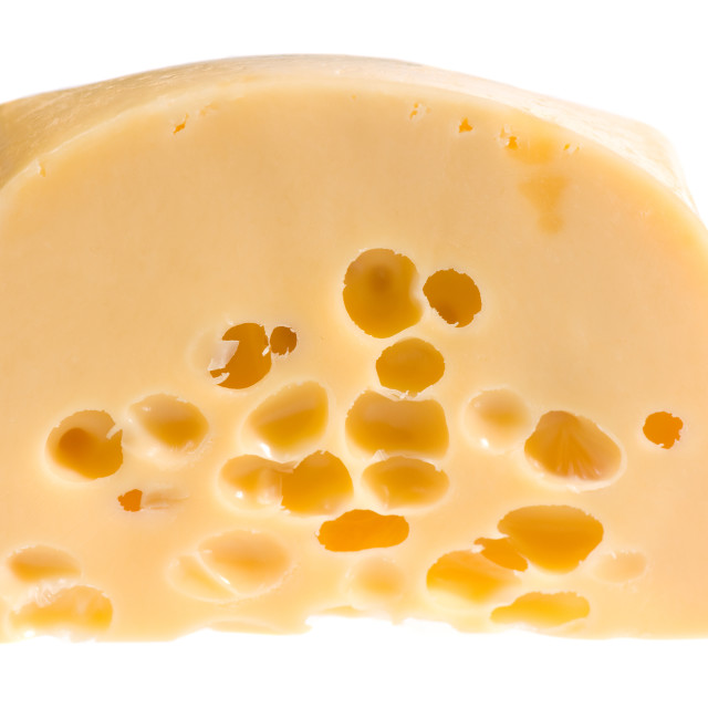 """piece of yellow cheese"" stock image"