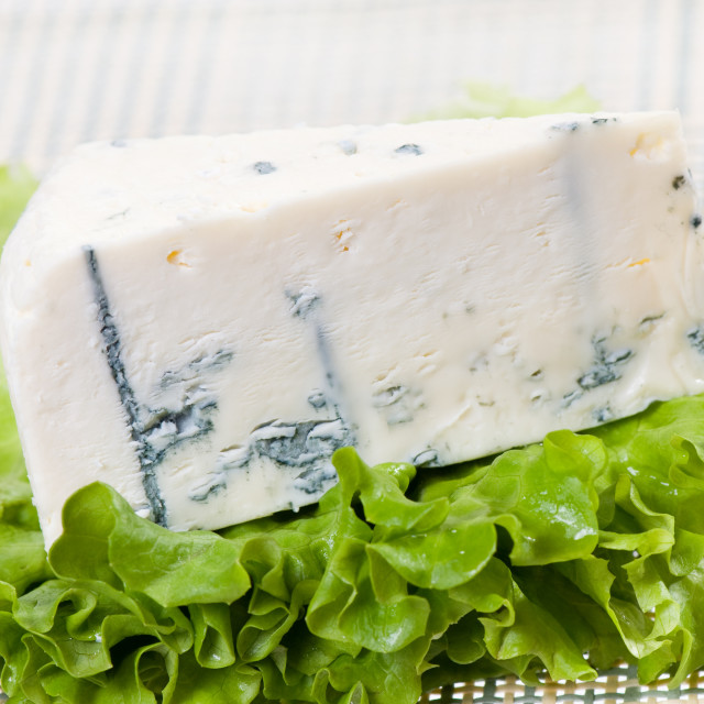 """""""blue cheese portion"""" stock image"""