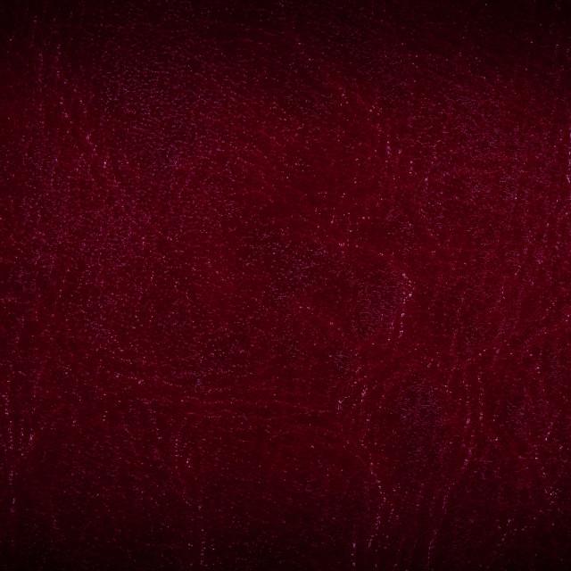 """""""Maroon porous leather sheet"""" stock image"""
