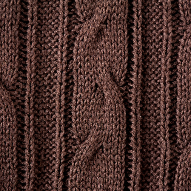 """Brown braid jersey cloth texture"" stock image"