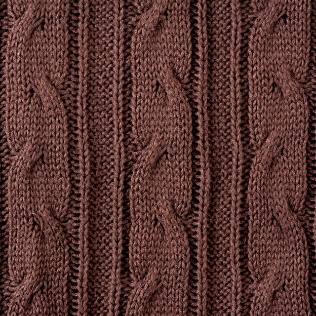 """Brown plait jersey cloth texture"" stock image"