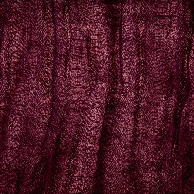"""Burgundy grunge cloth texture"" stock image"