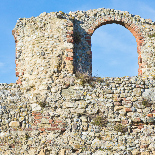 """""""Medieval ruins"""" stock image"""