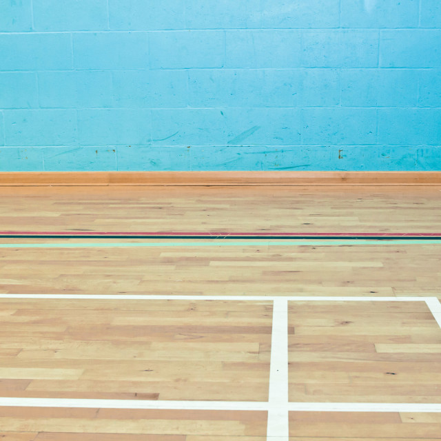 """Sports hall"" stock image"