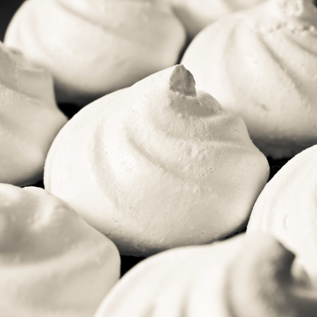 """Meringue nests"" stock image"