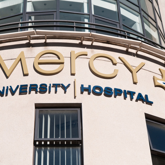 """Mercy Hospital"" stock image"