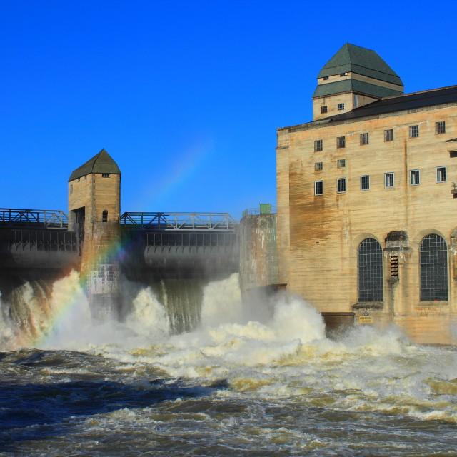 """Hydro power plant"" stock image"