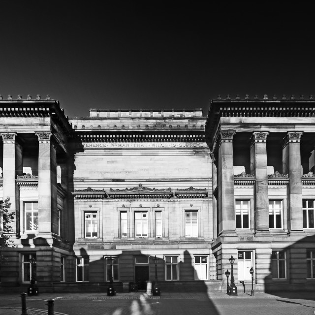 """Harris Art Gallery, Preston, UK"" stock image"