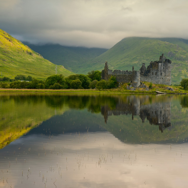 """Sunrise at Loch Awe"" stock image"