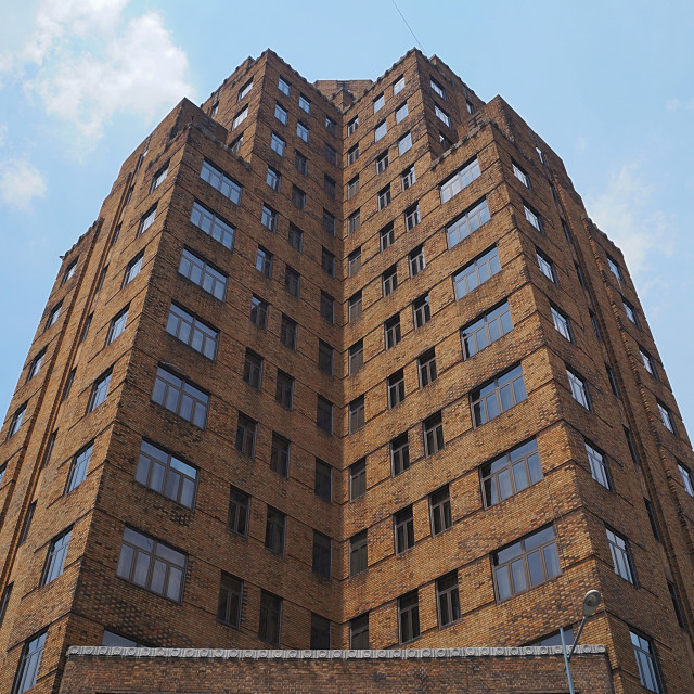 """Broadway Mansions Shanghai"" stock image"