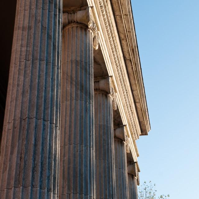 """Stone Pillars"" stock image"