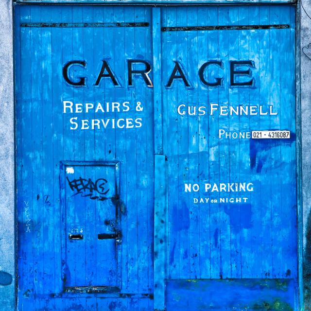 """""""Garage Doors"""" stock image"""