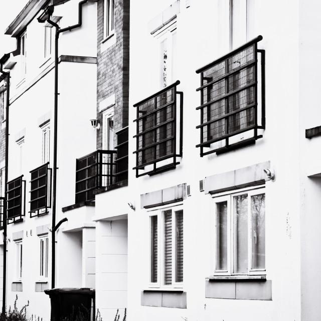"""Modern apartments"" stock image"