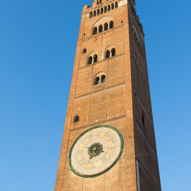 """Cathedral of Cremona in Italy"" stock image"