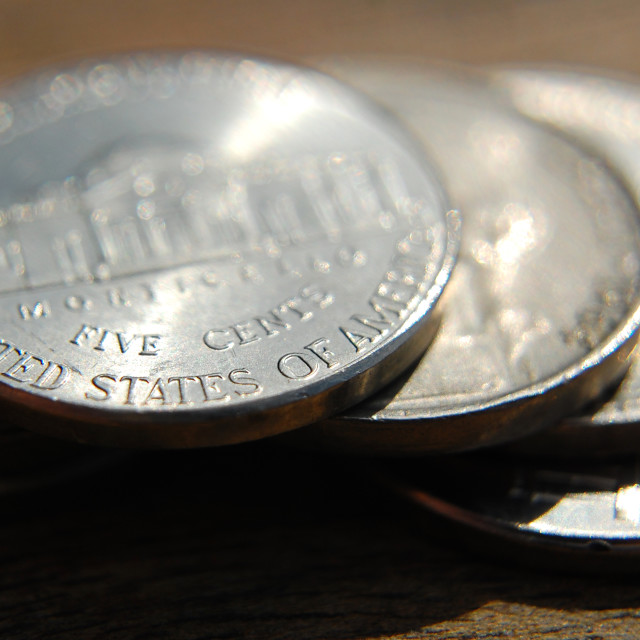 """United States of America Cent coin"" stock image"