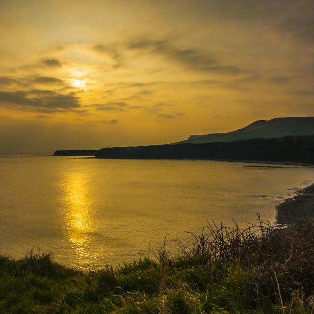 """Kimmeridge Bay, Dorset."" stock image"