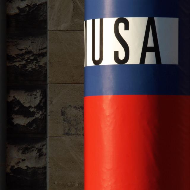 """""""Usa"""" stock image"""