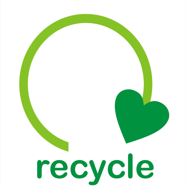 """Recycle Sign"" stock image"