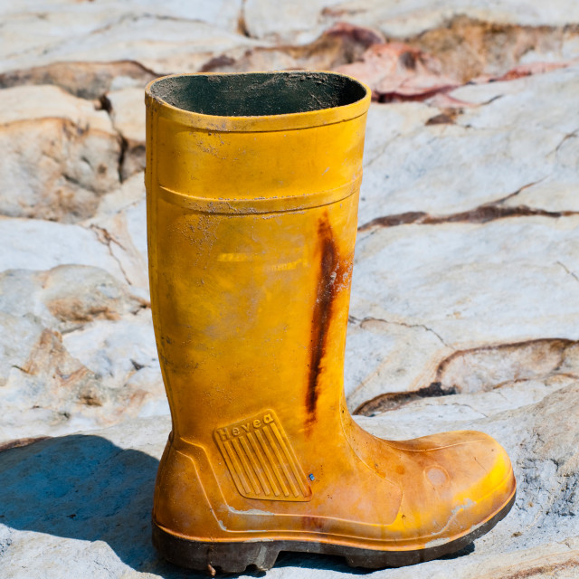 """""""Old Boot"""" stock image"""