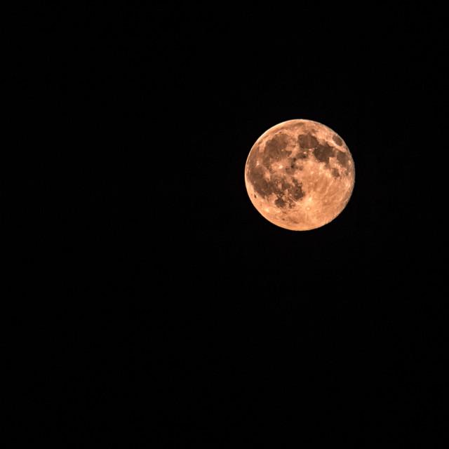 """Full Dark Moon"" stock image"