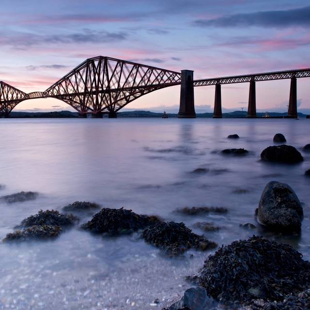 """Forth Rail Bridge"" stock image"