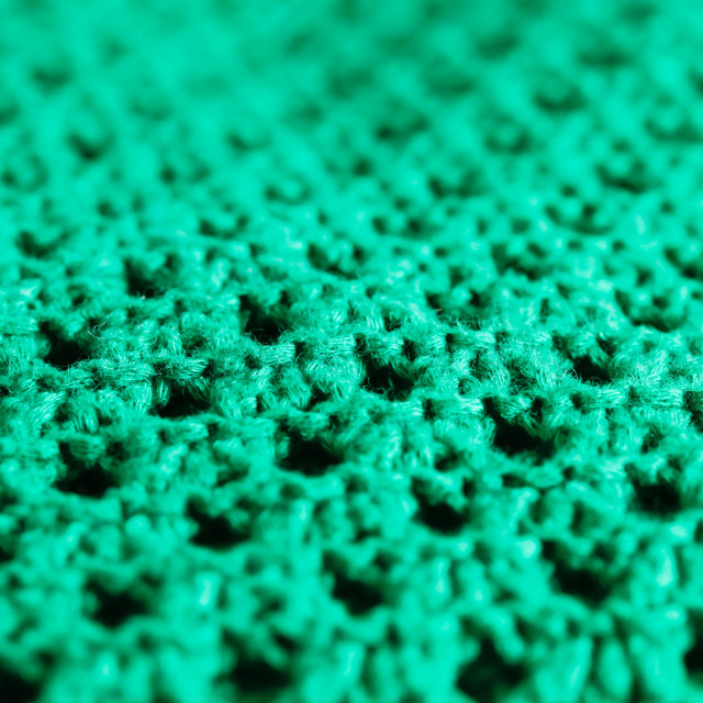 """Green wool"" stock image"
