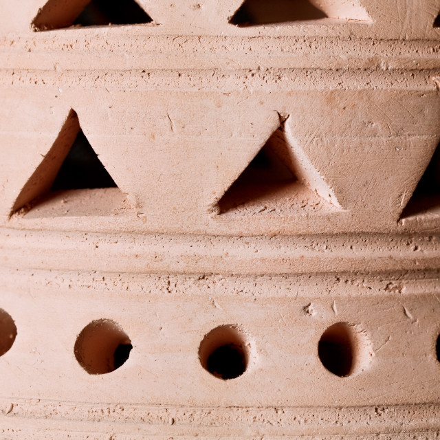"""Clay lantern"" stock image"