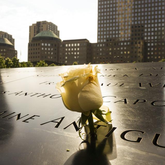 """""""9/11 Memorial"""" stock image"""