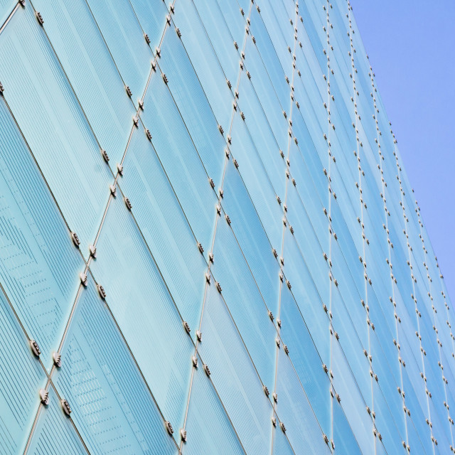 """""""Glass building"""" stock image"""