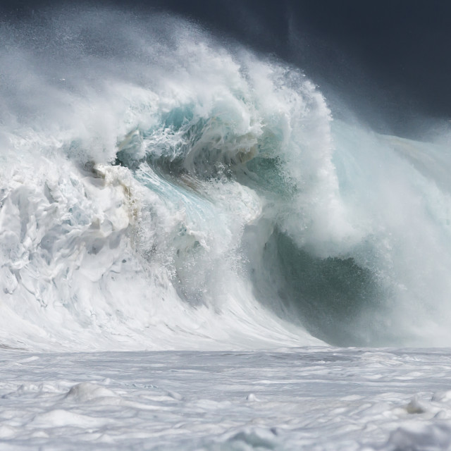 """""""Monster wave"""" stock image"""