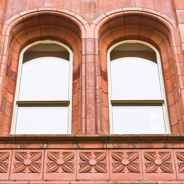 """Arch windows"" stock image"
