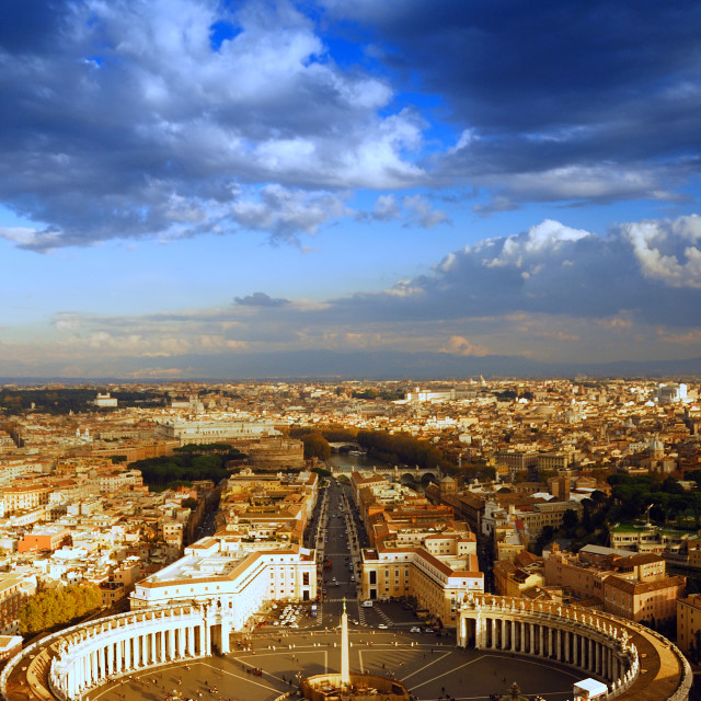 """Rome view"" stock image"