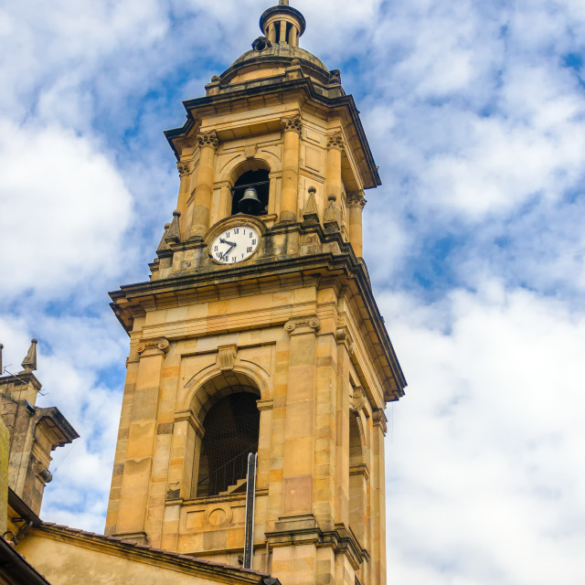 """""""Cathedral Tower"""" stock image"""