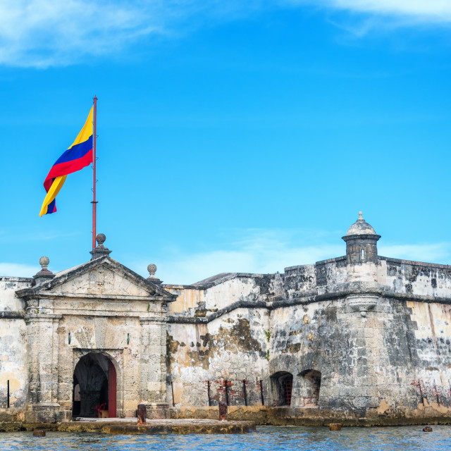 """Bocachica Fort"" stock image"