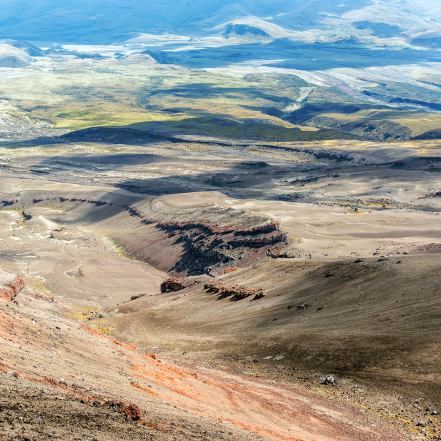 """View from Cotopaxi Volcano"" stock image"