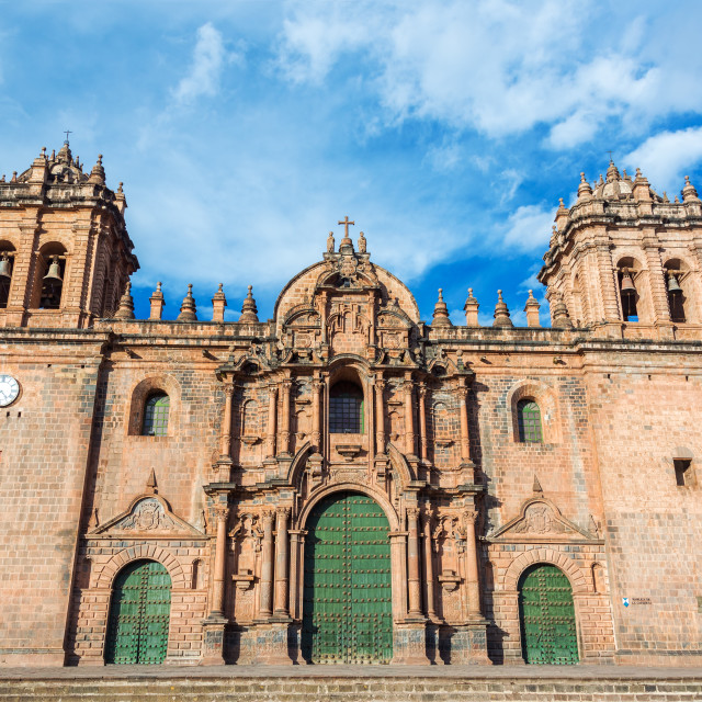 """""""Cusco Cathedral"""" stock image"""