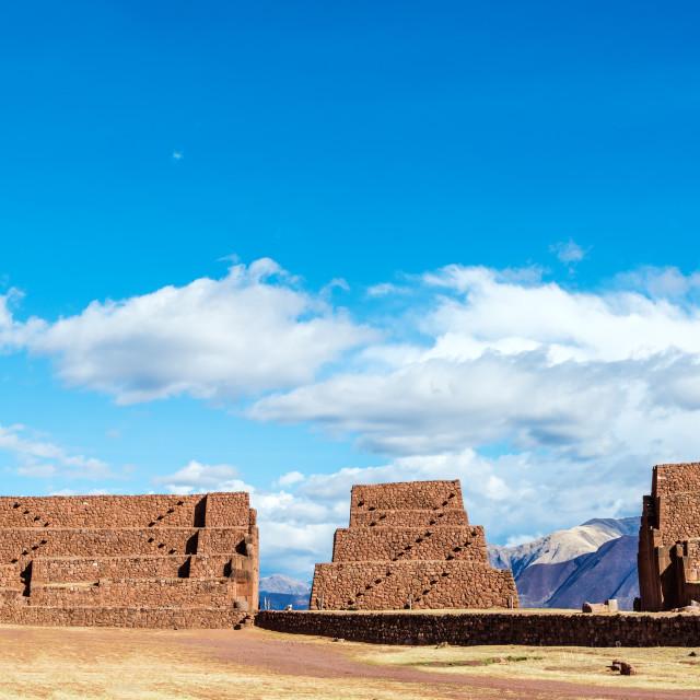"""""""Rumiqullqa Ruins"""" stock image"""