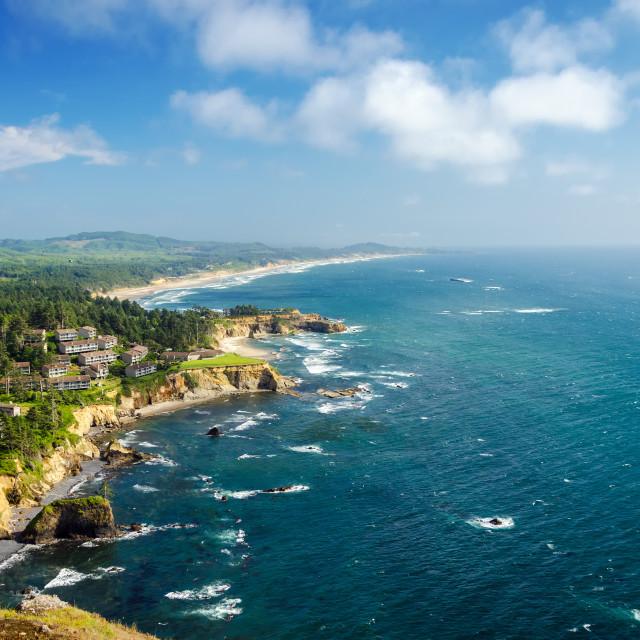 """""""Oregon Coast"""" stock image"""