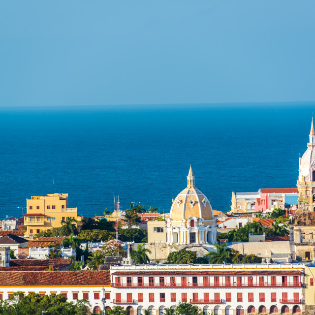 """Cartagena Old Town"" stock image"