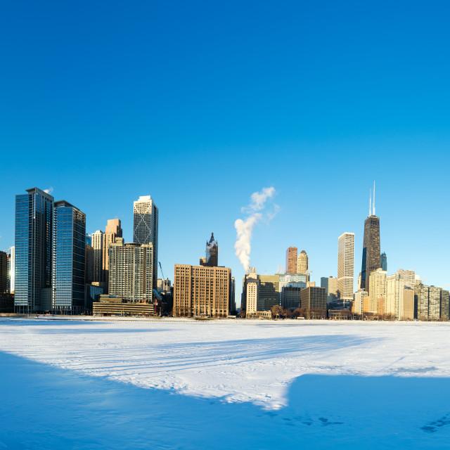 """Chicago Panorama"" stock image"