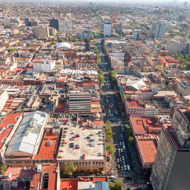 """Mexico City View"" stock image"