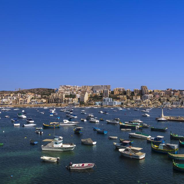 """Malta, Xemxija"" stock image"
