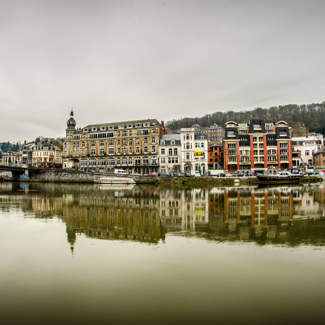 """""""Dinant scape"""" stock image"""