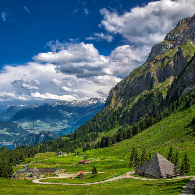 """Switzerland alps"" stock image"
