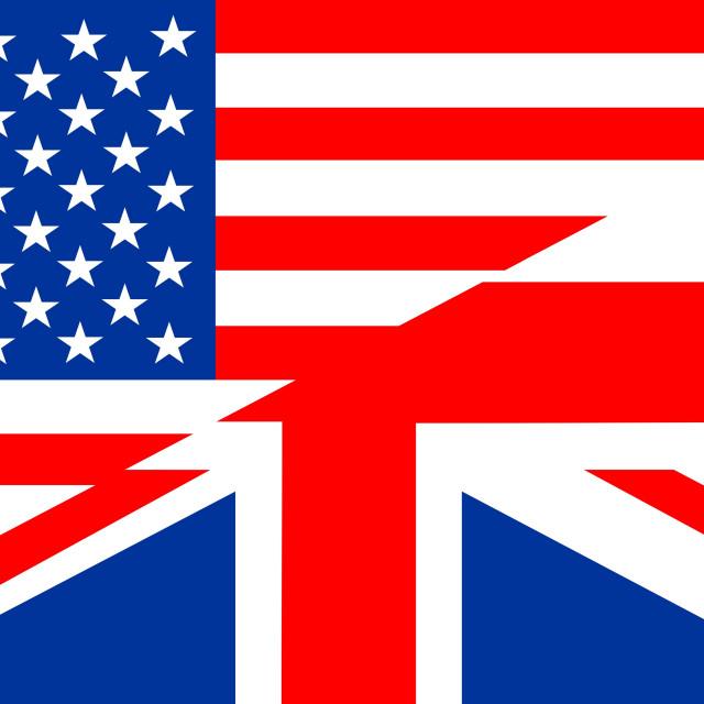 """""""english language flag"""" stock image"""