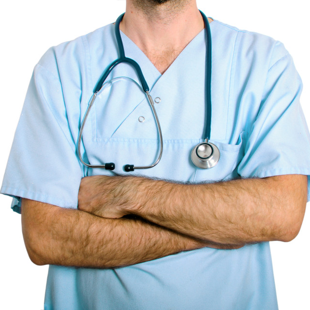 """no face doctor"" stock image"