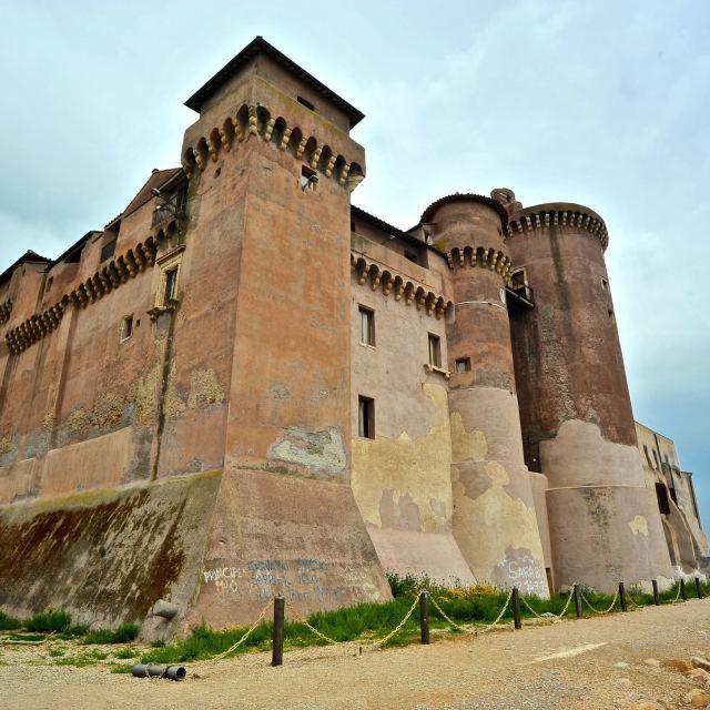 """""""Castello di Santa Severa"""" stock image"""
