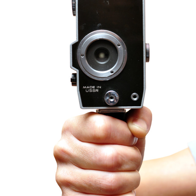 """""""old video camera"""" stock image"""